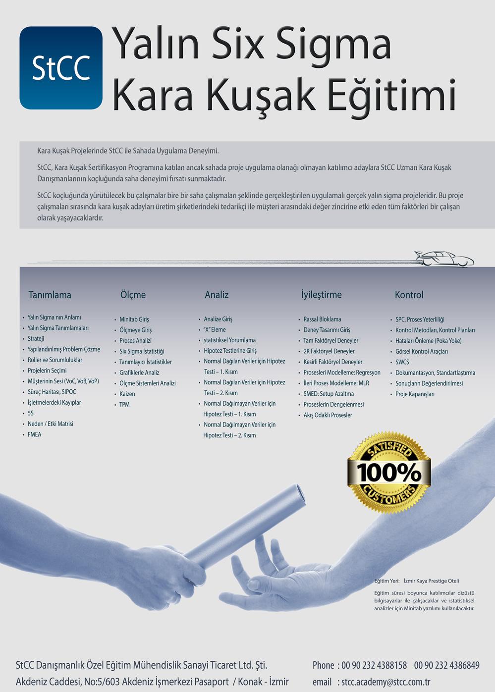 Stcc Lean Six Sigma Black Belt Certification Program